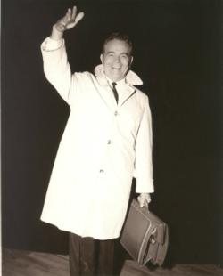 A.A.Allen waving