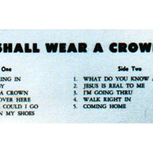 I Shall Wear a Crown (back)