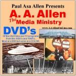 A. A. Allen DVD