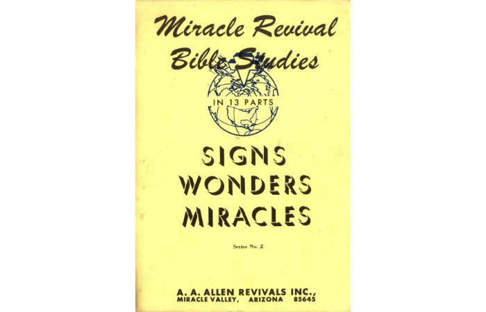 Small Group Study   Signs And Wonders - Vineyard Digital ...