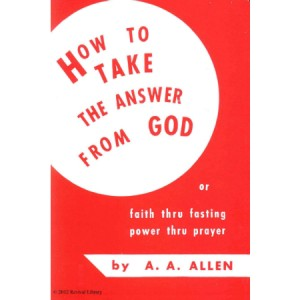 How to Take the Answer From God