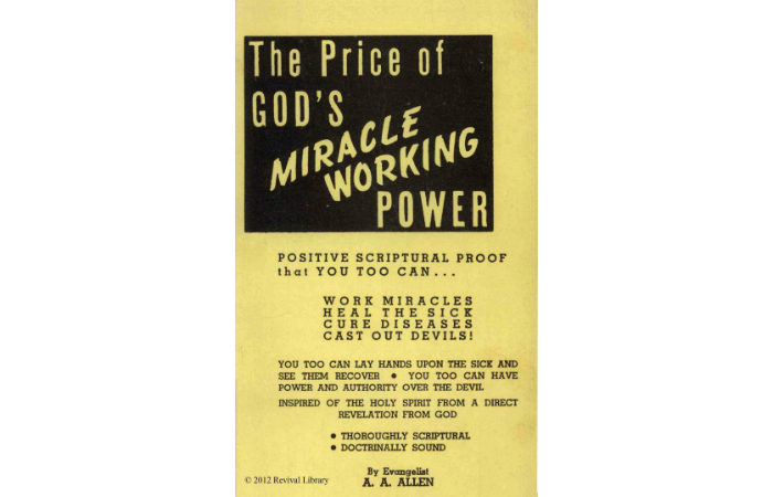 28 The Price Of God S Miracle Working Power Aaallenonline Com