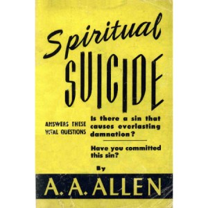 Spiritual Suicide