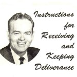 Instructions for Receiving and Keeping Deliverance