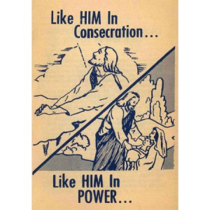 Like Him in Consecration