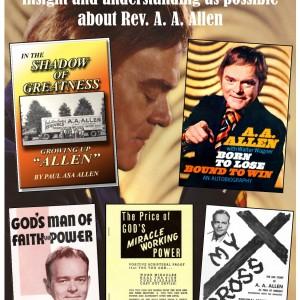 A A Allen 5 book offer